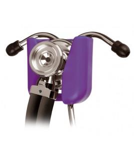 Hip Clip Stéthoscope Support Violet