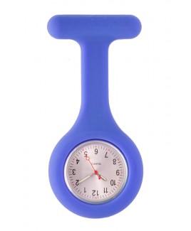 Montre Infirmière Standard silicone Bleu Royal