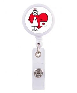 Porte Badge Enrouleur Stick Nurse